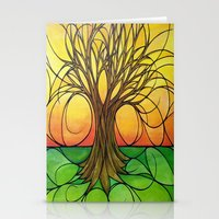 tree of life Stationery Cards featuring Tree Life  by R.Blume