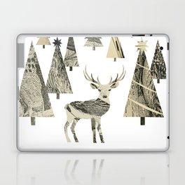 Winter Woods, collage Laptop & iPad Skin