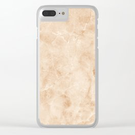 Stone Texture Surface 20 Clear iPhone Case