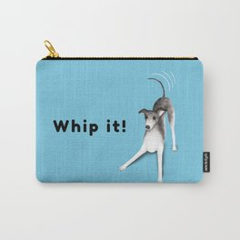 Whip it! (Light Blue) Carry-All Pouch