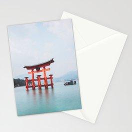 Floating Shrine of Miyajima, Japan Stationery Cards