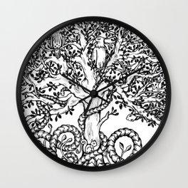 Yggdrasil Wall Clock