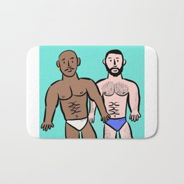 Beard Boy: Sam & Hector Bath Mat