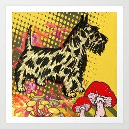 Scottish pop art Art Print