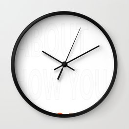 It is All About How You Rebound Wall Clock