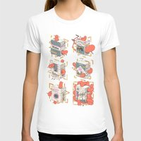 cigarettes T-shirts featuring Cigarettes Deluxe by Kensausage