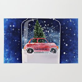 Christmas in a Bottle Rug
