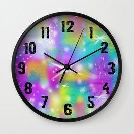 Swirl Slime Galaxy Wall Clock