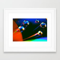 Through Time & Space Framed Art Print