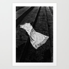 Silk And Stone Art Print