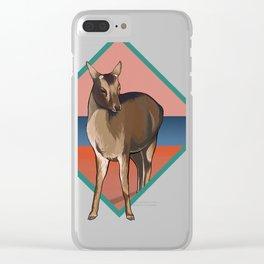 Miyajima Deer Clear iPhone Case