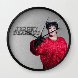 Jersey Dearest Wall Clock