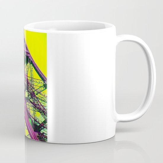 purple paris Coffee Mug