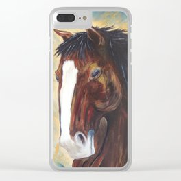 Mustang Rebel Belle Clear iPhone Case