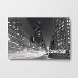 Nightfall in NYC Metal Print