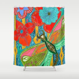 Stabberfly Shower Curtain