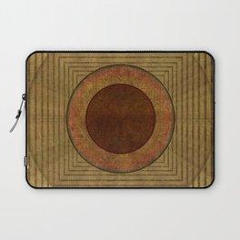 """Golden Circle Japanese Vintage"" Laptop Sleeve"