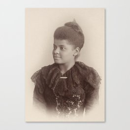Ida B. Wells, 1893 Canvas Print