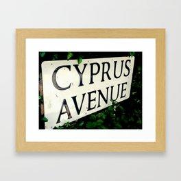 Cyprus Avenue Framed Art Print