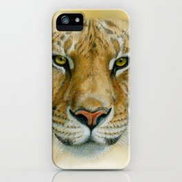 Liger CC007 iPhone Case