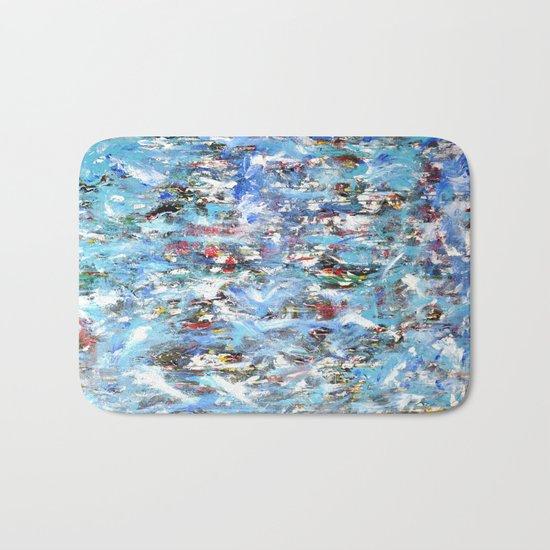 GOOD MORNING BLUE Bath Mat