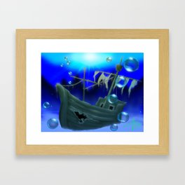 Jolly Roger Bay (US) Framed Art Print
