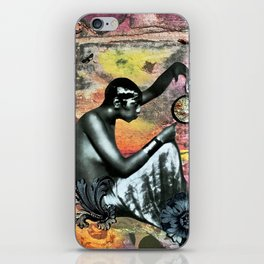 She Asked iPhone Skin