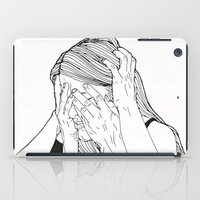 introvert iPad Cases featuring Introvert 1 by Heidi Banford