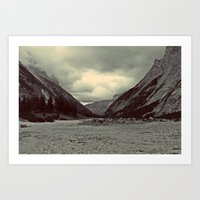 Home is in the Mountains Art Print