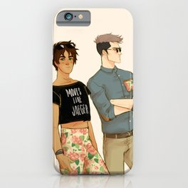 flowers in yo pants iPhone Case