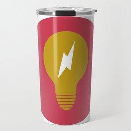 Lightning Bulb Travel Mug