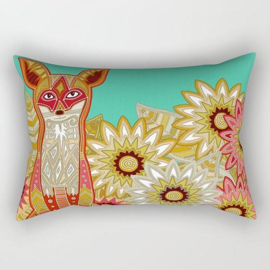 garden fox Rectangular Pillow