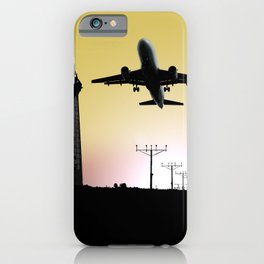 ATC: Air Traffic Control Tower & Plane iPhone Case
