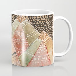 Pattern in the mountains Coffee Mug