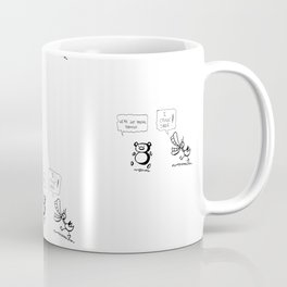 El Panda & Duck Amuck Parade Coffee Mug