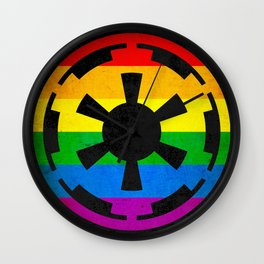 Rainbow Empire Wall Clock