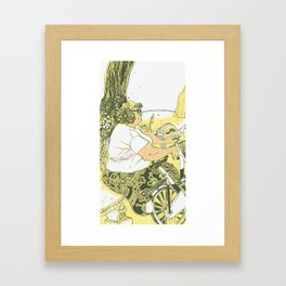 Waiting #1 Framed Art Print