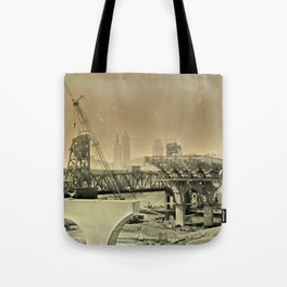 Cleveland Ambrotype Crop Tote Bag