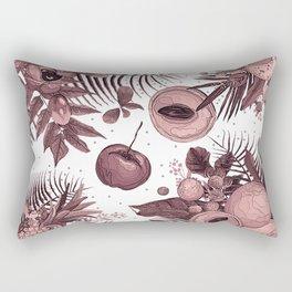 forest fruit pattern Rectangular Pillow