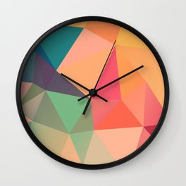 Geometric XV Wall Clock