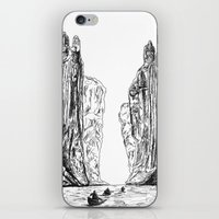 guardians iPhone & iPod Skins featuring Guardians  by AlexanderSattler