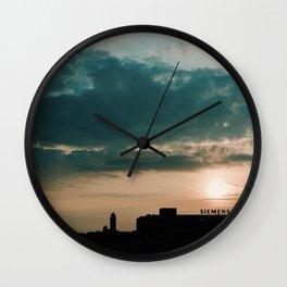 Siemens in Berlin Wall Clock