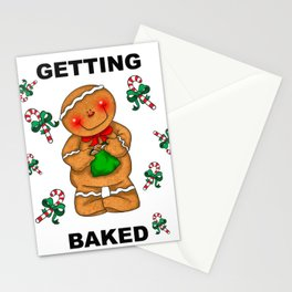 Getting Baked Stationery Cards