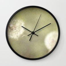 Sweet Dandelions  Wall Clock