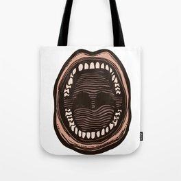 Big Mouth (transparent) Tote Bag