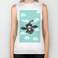 how to train your dragon Biker Tanks featuring How Panda Train Your Dragon by Pandakuma Store