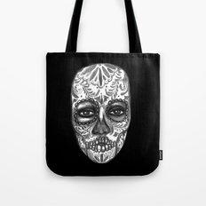 Floating Sugar Skull Tote Bag