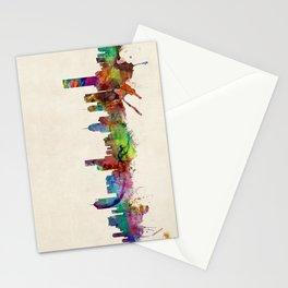 Melbourne Australia Skyline Stationery Cards