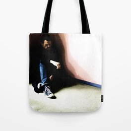 In the Corner #3 Tote Bag