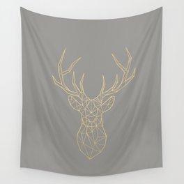 Geometric Deer Wall Tapestry